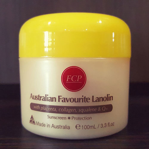 FCP Australian Favourite Lanolin Old Packaging