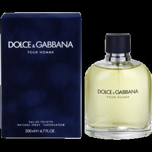 Dolce & Gabbana Pour Homme EDT 200ML